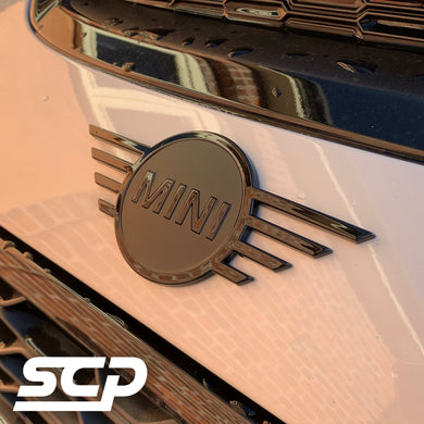 MINI F-Series LCI Badge Insert Decal - SCP Automotive
