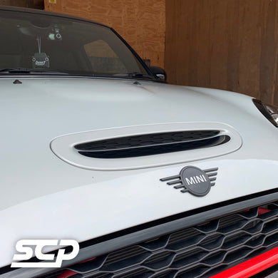 MINI F-Series Bonnet Scoop Decal - SCP Automotive