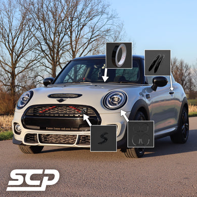 MINI F-Series Chrome Delete Package - SCP Automotive