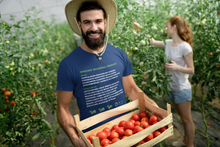Load image into Gallery viewer, Food Lovers Shirt | Seasonal Shopping | Love to Cook | Food Lovers Gift | Gourmet | In-Season Produce | Cooks T Shirt | Spring