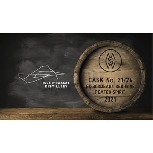 MWS Cask Share - Raasay Cask No.21/74 Ex-Bordeaux Red Wine Cask