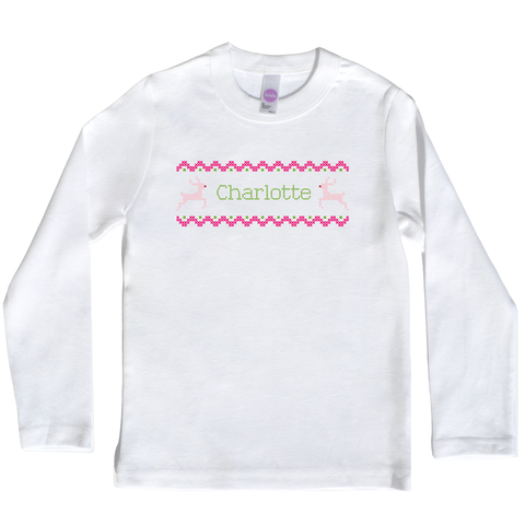 Boco Kids - Shirt - Fair Isle in Happy