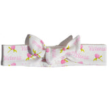 Knotted Headband - Clover Flowers