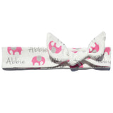 Knotted Headband - Elephants