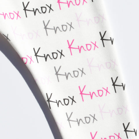 Name Leggings - Name Only - Color combo with white background