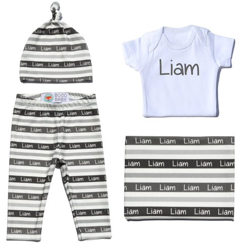 Welcome Baby Set - Stripes