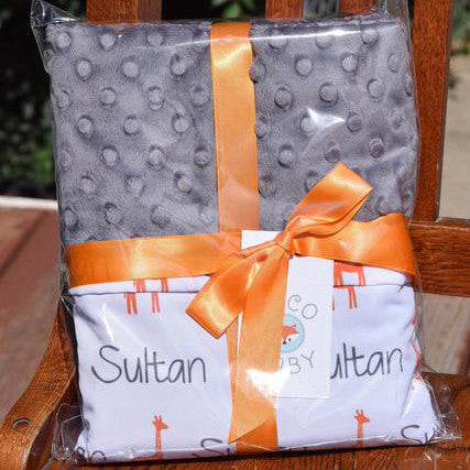 Boco Deals - Sultan regular sized satin minky