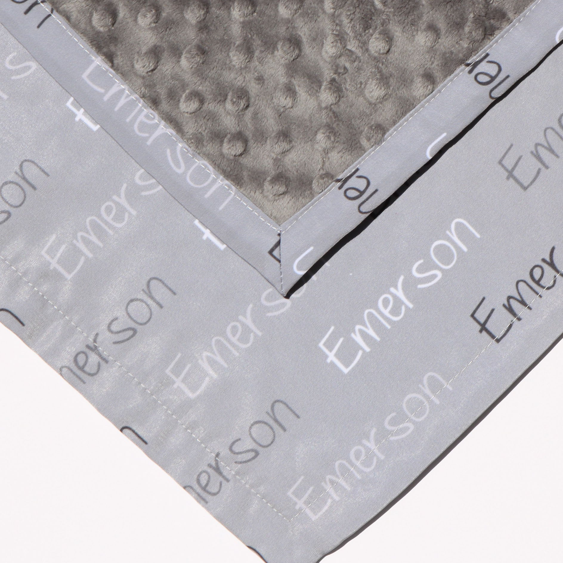 Boco Deals - Emerson Grey Background Lovey Blanket