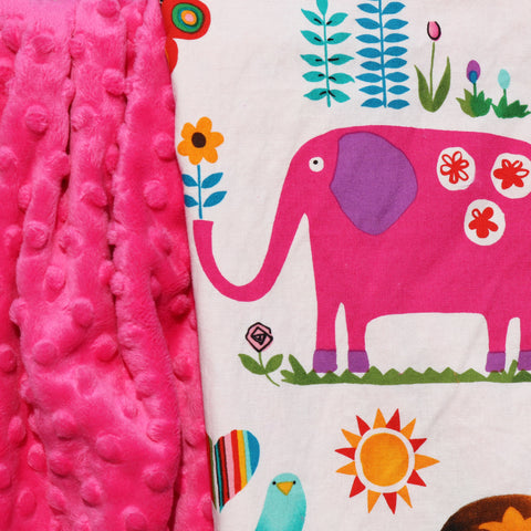 Ready to Ship - Juicy Jungle Baby Blanket