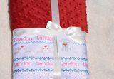 Boco Deals - Landon Crib Holiday Double Minky