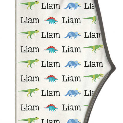 Boco Kids - Name Leggings - Dinosaurs