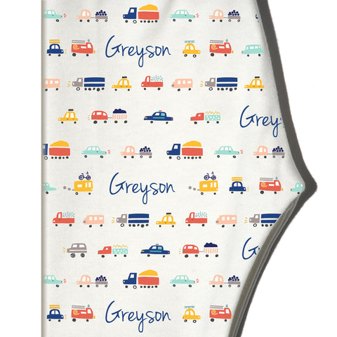 Boco Kids - Name Leggings - Cars
