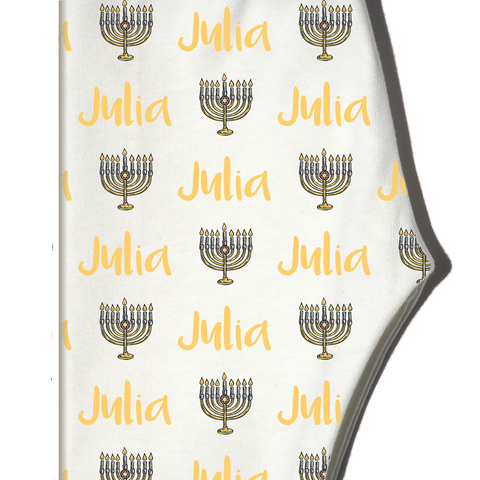 Boco Kids - Name Leggings - Menorah