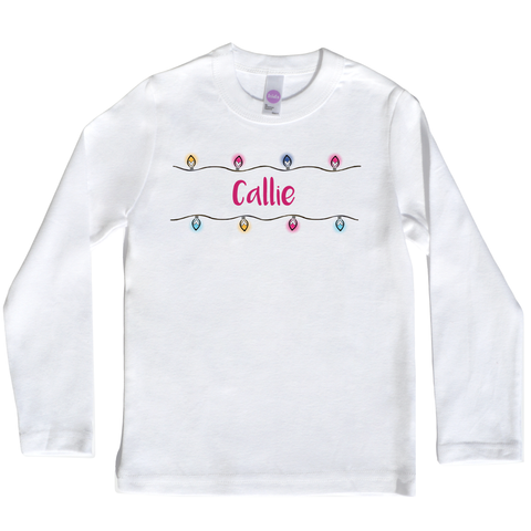 Boco Kids - Shirt - Christmas Lights in Multi-Color