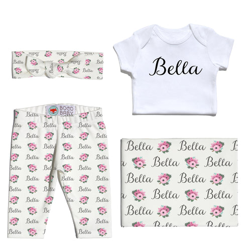 Welcome Baby Set - Spring Poppy