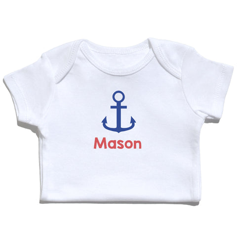 Bodysuit - Anchor with Name