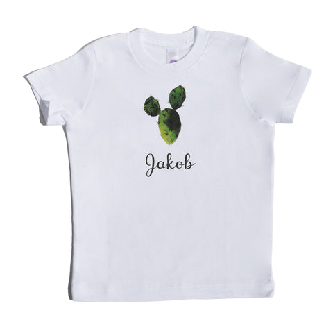 Boco Kids - Shirt - Succulent with Name