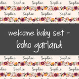 Welcome Baby Set - Boho Garland