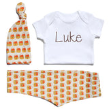 Candy Corns Outfit with Personalized Onesie