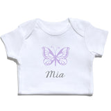Bodysuit - Butterfly with Name