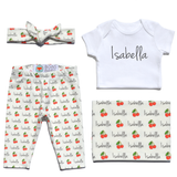 Welcome Baby Set - Cherries