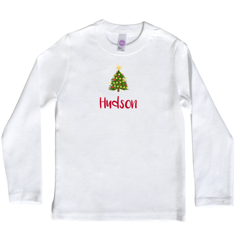 Boco Kids - Shirt - Christmas Trees