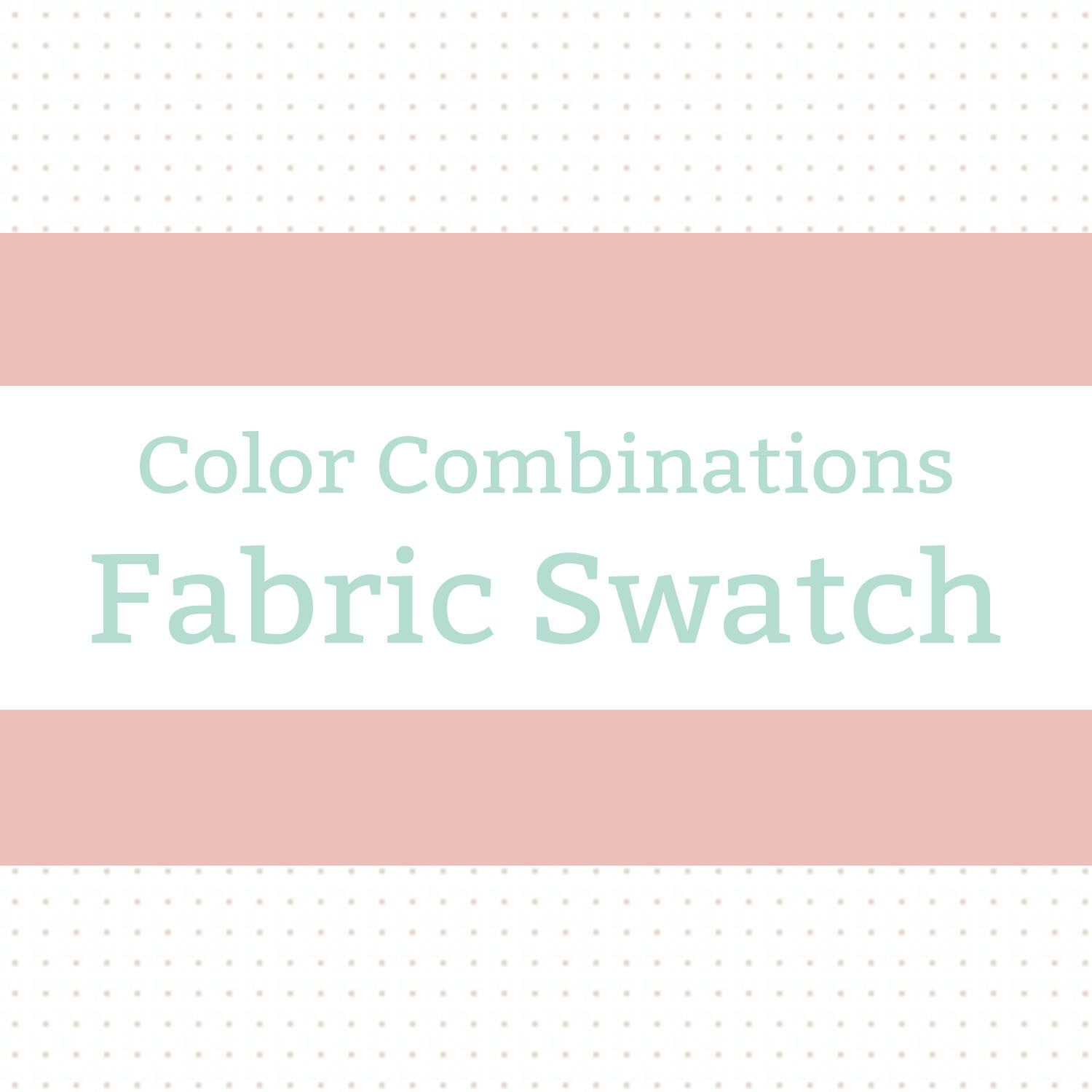 Fabric Swatch - Available Colors