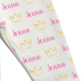 Name Leggings - Crowns