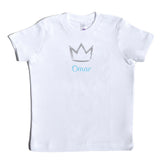 Boco Kids - Shirt - Crown with Name