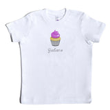 Boco Kids - Shirt - Cupcake with Name