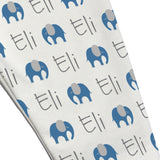 Name Leggings - Elephants