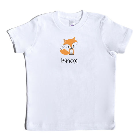 Boco Kids - Shirt - Fox with Name