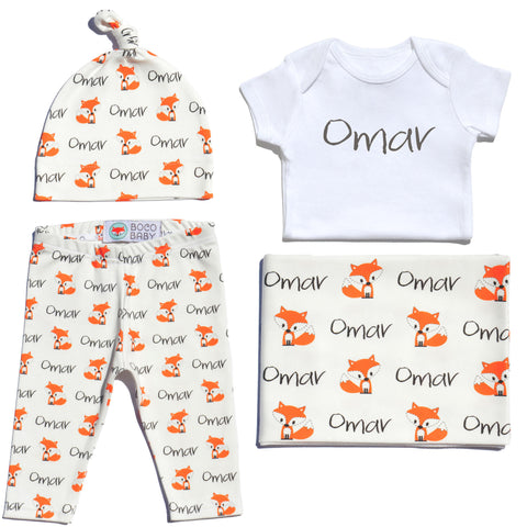 Welcome Baby Set - Foxes