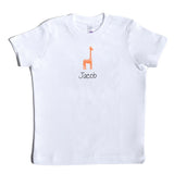 Boco Kids - Shirt - Giraffe with Name