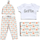 Welcome Baby Set - Giraffes