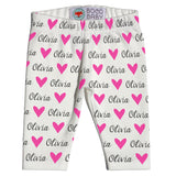 Name Leggings - Hearts