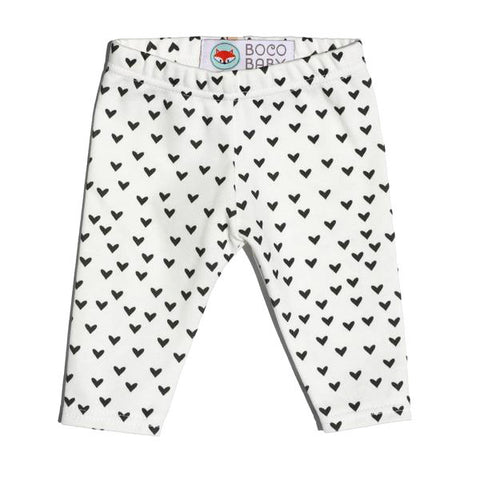 Ready to Ship - Non-Personalized Leggings - Little Black Hearts