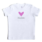 Boco Kids - Shirt - Heart with Name