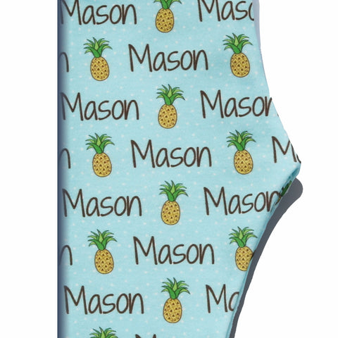 Boco Kids - Name Leggings - Pineapples