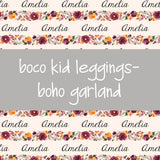 Boco Kids - Name Leggings - Boho Garland