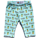 Name Leggings - Pineapples
