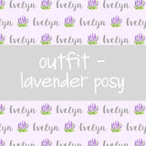 Outfit - Lavender Posy