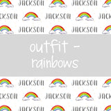Outfit - Rainbows