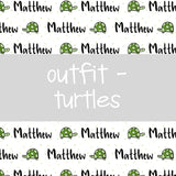 Outfit - Turtles