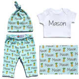 Welcome Baby Set - Pineapples
