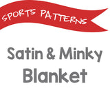 Minky Blanket - Pick your Sport