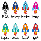 Boco Kids - Name Leggings - Rockets