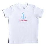 Boco Kids - Shirt - Anchor with Name