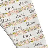 Name Leggings - Spring Garland