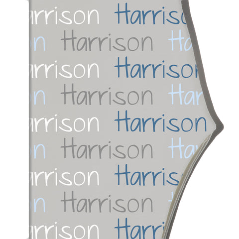 Boco Kids - Name Leggings - Color Combo with Grey Background